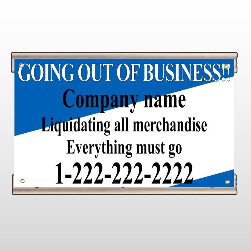Going Out Sale 11 Track Banner
