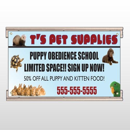 Pet Supplies 305 Track Sign