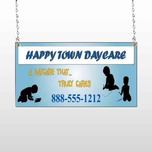 True Happy Care 182 Window Sign