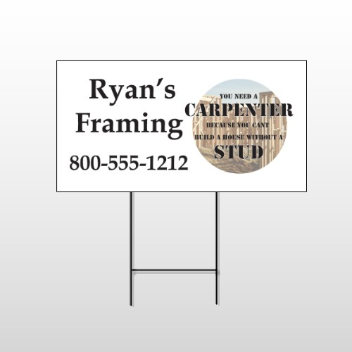 Framing 234 Wire Frame Sign