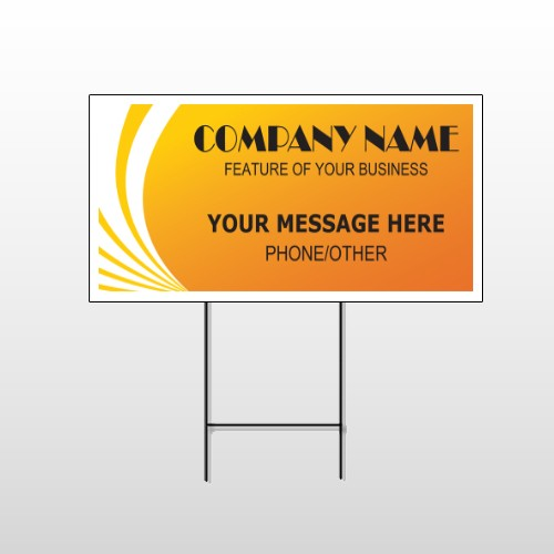 Law 144  Wire Frame Sign