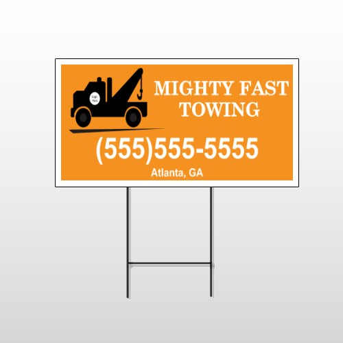 Mighty 128 Wire Frame Sign