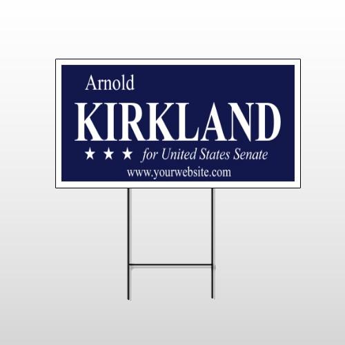 Senate 134 Wire Frame Sign