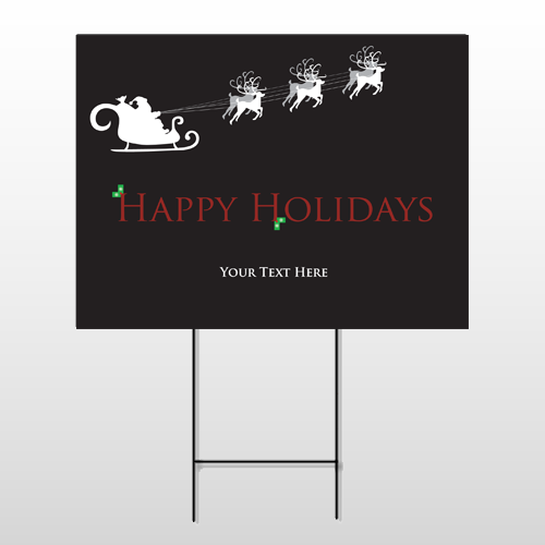 Christmas 13 Wire Frame Sign