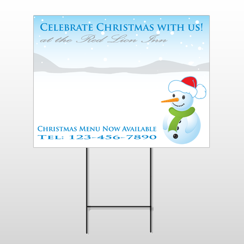 Christmas 14 Wire Frame Sign