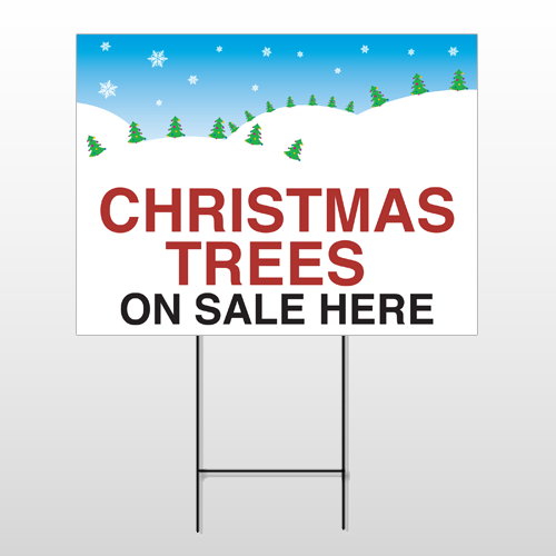Christmas 17 Wire Frame Sign