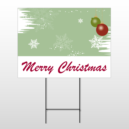 Christmas 2 Wire Frame Sign