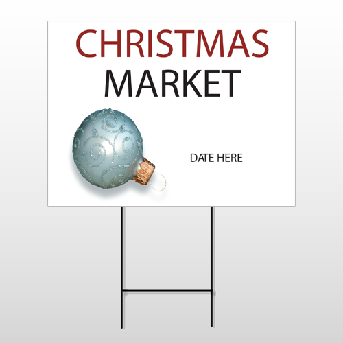Christmas 21 Wire Frame Sign