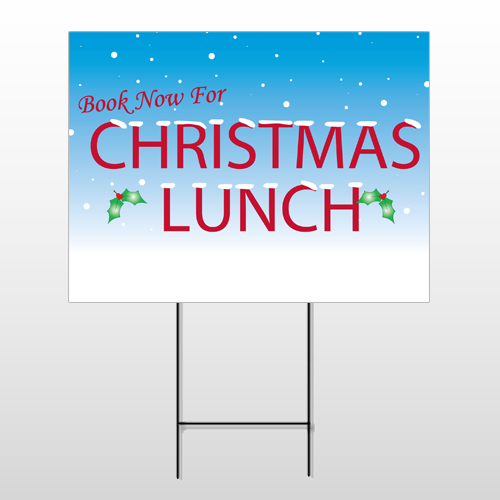 Christmas 22 Wire Frame Sign