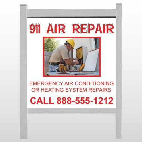 "AC Repair 251 48""H x 48""W Site Sign"