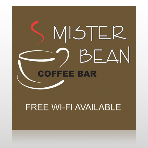 Coffee Bar 27 Floor Decal
