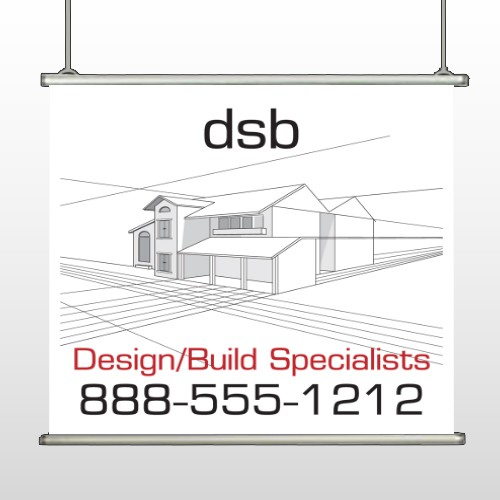 Builder 35 Hanging Banner