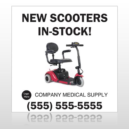 New Scooter 100 Custom Banner