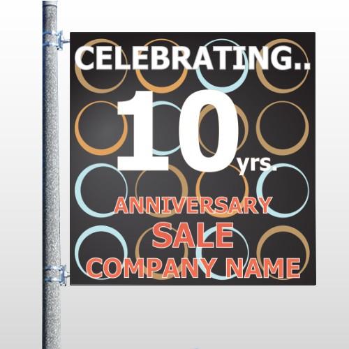 Anniversary Sale 14 Pole Banner