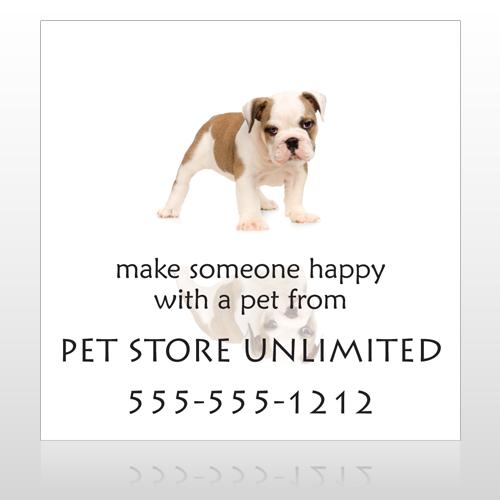 Pet Store 26 Sign Custom