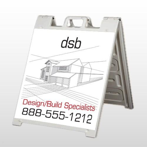 Builder 35 A Frame Sign