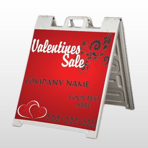 Valentine's Sale 09 A Frame Sign