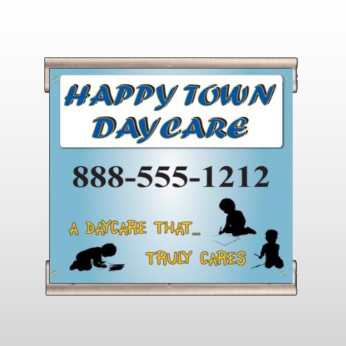 True Happy Care 182 Track Banner