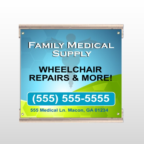 Family Medical 138 Track Sign