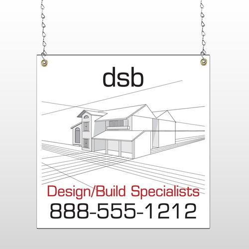 Builder 35 Window Sign