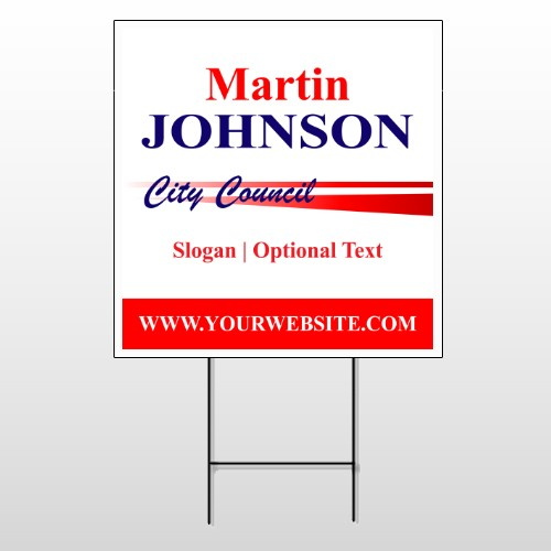 City Council 133 Wire Frame Sign