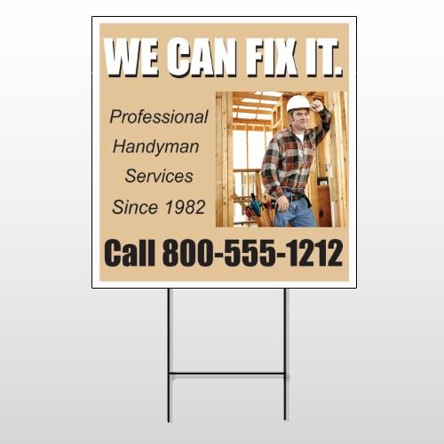 Handyman 243 Wire Frame Sign