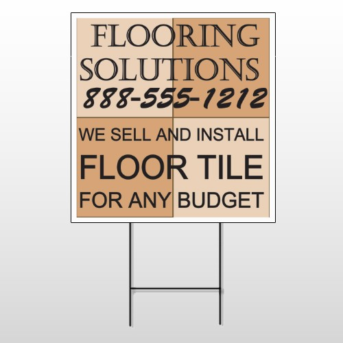 Flooring 247 Wire Frame Sign