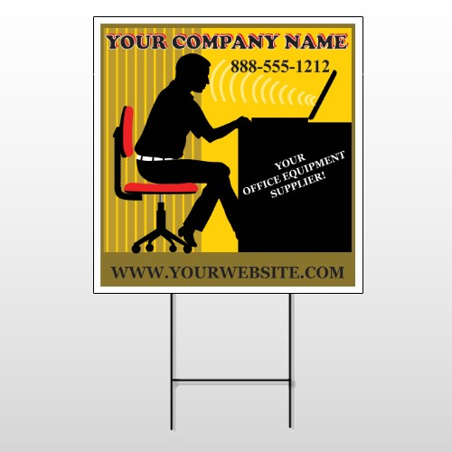 Office 149 Wire Frame Sign