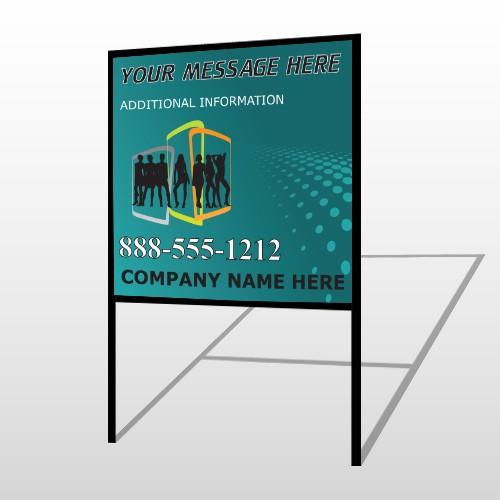 Fashion Models 180 H Frame Sign
