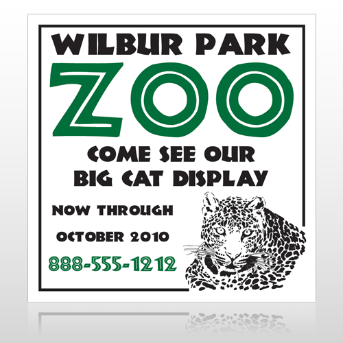 Zoo 127 Custom Sign
