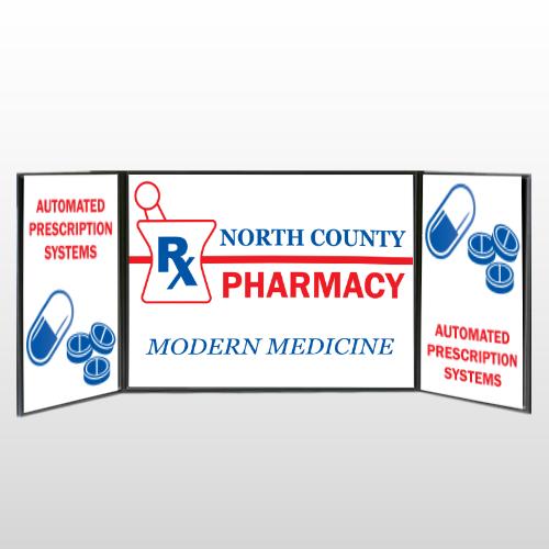 Pharmacy 101 Table Top Display