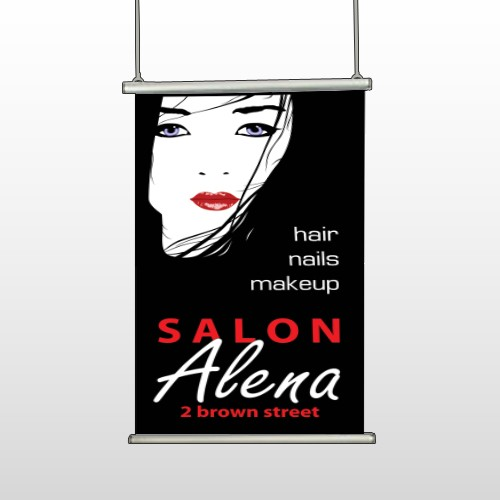 Salon 125 Hanging Banner
