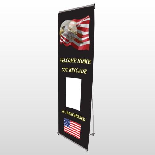 Eagle Flag 307 Flex Banner Stand