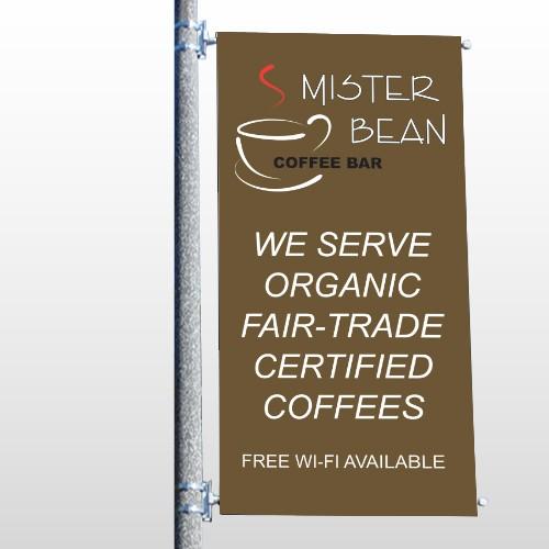 Coffee Bar 27 Pole Banner