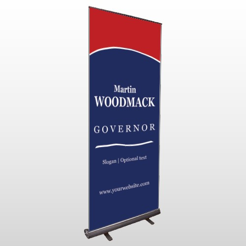 Governor 132 Exterior Retractable Banner Stand