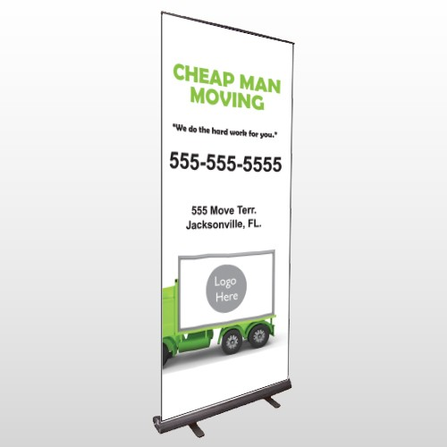 Moving 121 Retractable Banner Stand