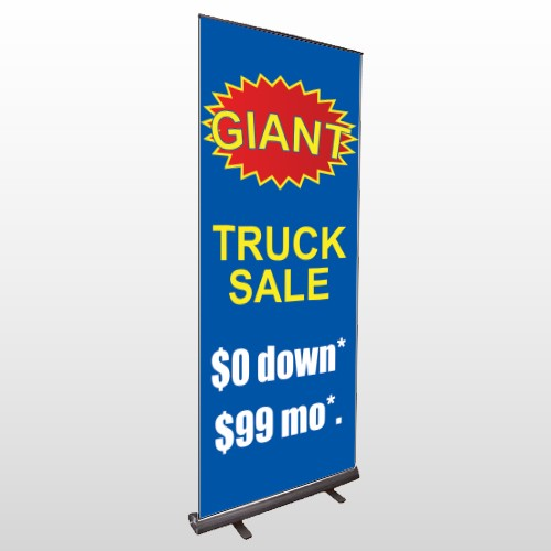 Starburst 119 Retractable Banner Stand