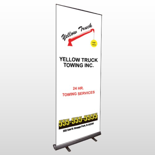 Towing 125 Retractable Banner Stand