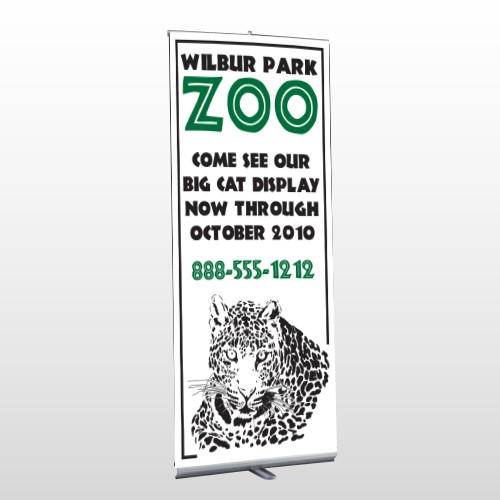 Zoo 127 Retractable Banner Stand