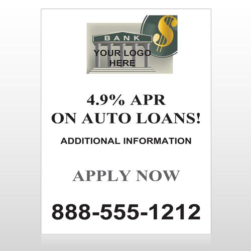 Auto Loan 173 Custom Decal