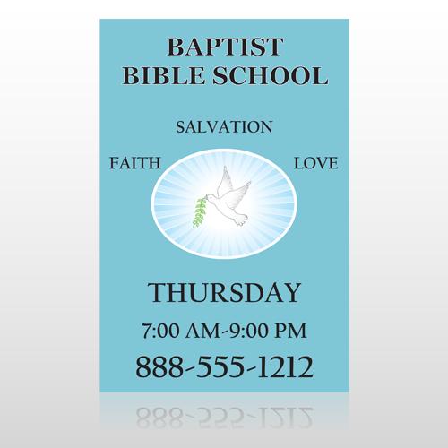 Bibledove 162 Sign