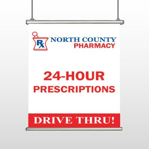 Pharmacy 333 Hanging Banner