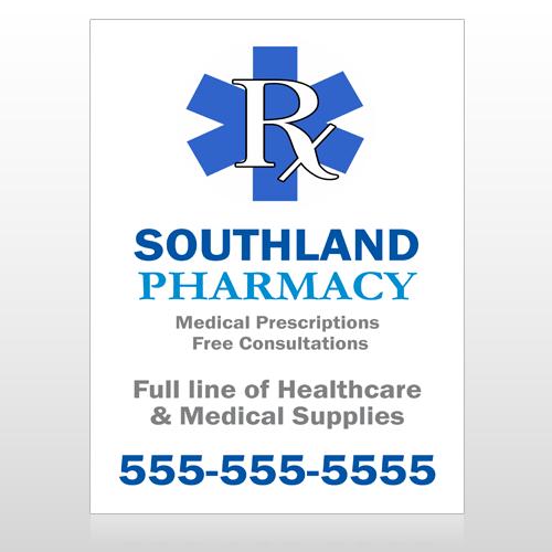 Pharmacy 103 Custom Sign