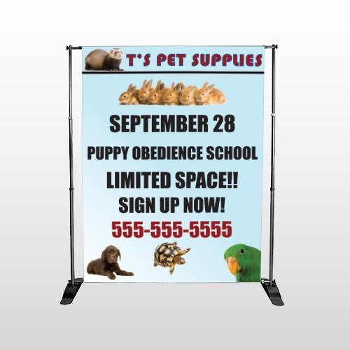 Pet Supplies 305 Pocket Banner Stand