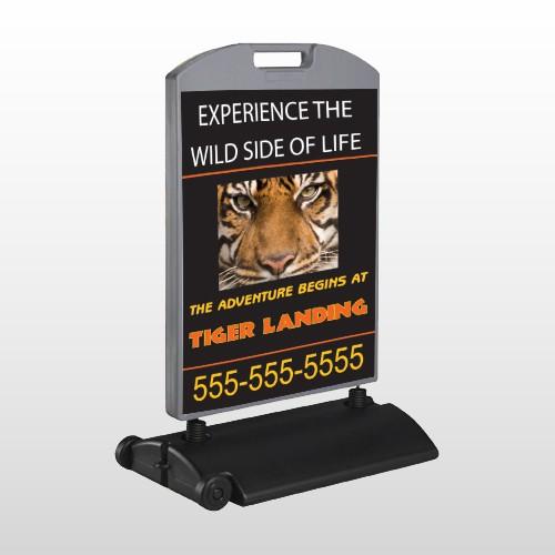 Tiger Landing 303 Wind Frame Sign