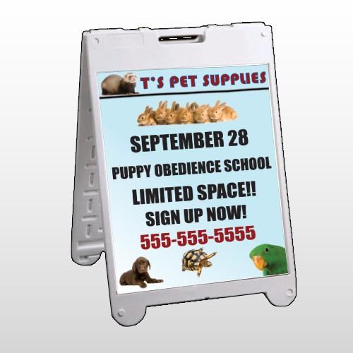 Pet Supplies 305 A Frame Sign