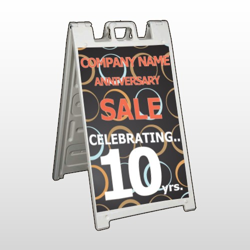Anniversary Sale 14 A Frame Sign