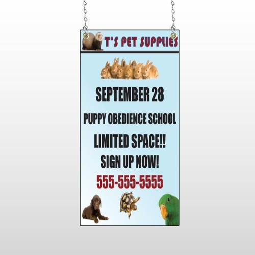 Pet Supplies 305 Window Sign