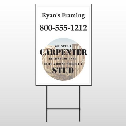 Framing 240 Wire Frame Sign