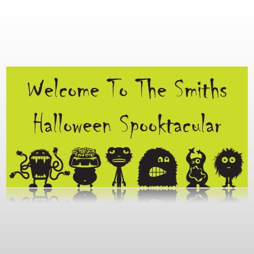 Welcome To The Halloween Spooktacular Banner